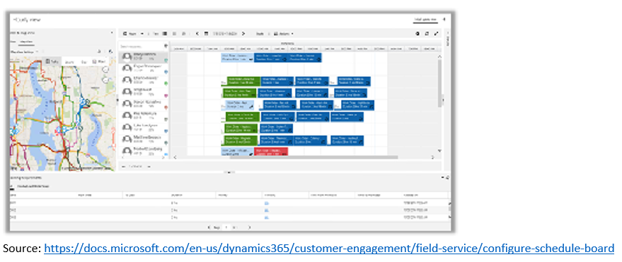 Field Service pic 3 Take Scheduling to the Next Level with Dynamics 365 Field Service