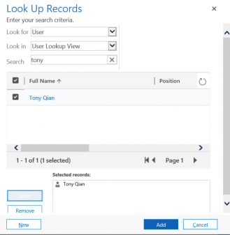Sharing pic 5 Dynamics 365: Share and Share Alike