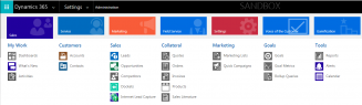 site map 1 Ease Navigation, Edit the Site Map in Dynamics 365