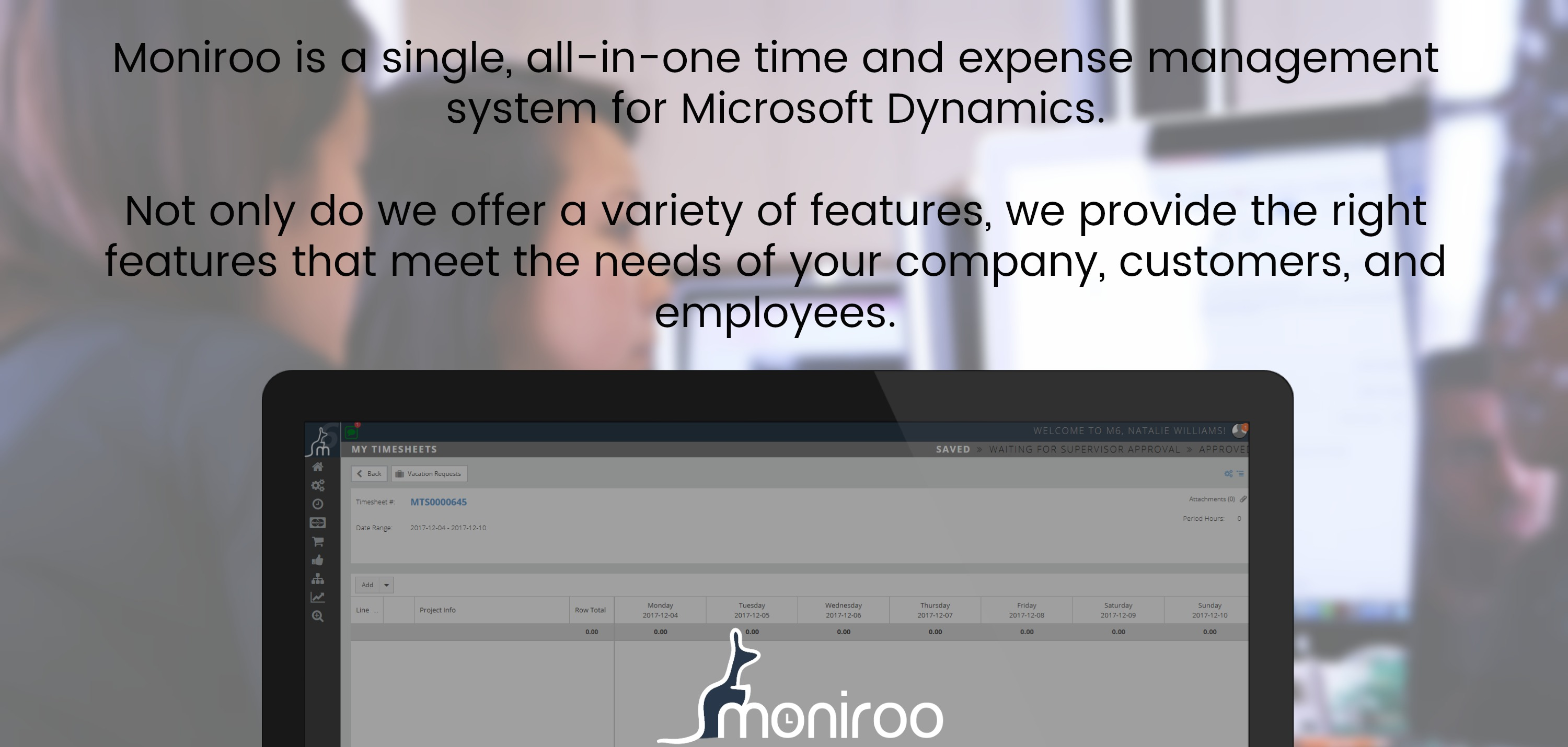 Moniroo Microsoft Dynamics Add Ons