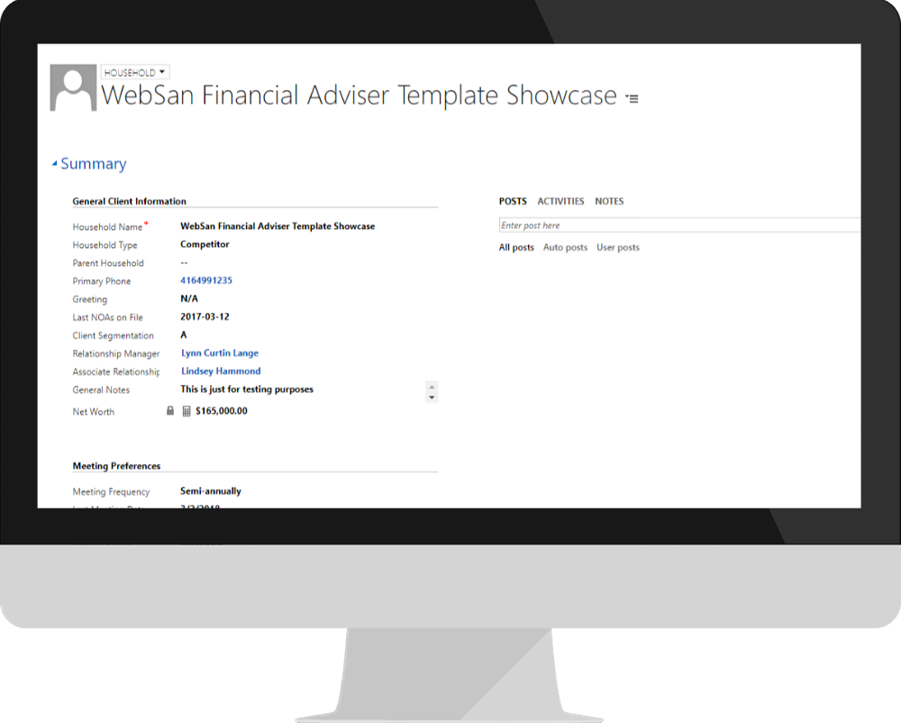 CRM Built by Financial Advisors, for Financial Advisors
