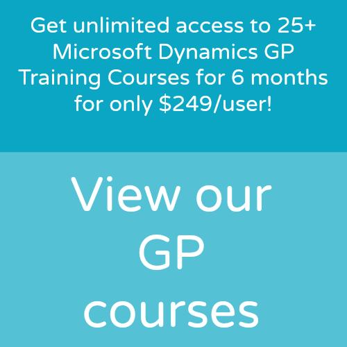 Dynamics GP, NAV, Dynamics 365/CRM Online Training | WebSan